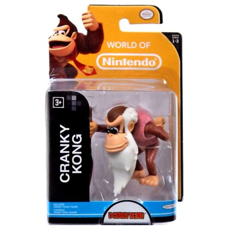 Cranky Kong World of Nintendo 2.5 Figure