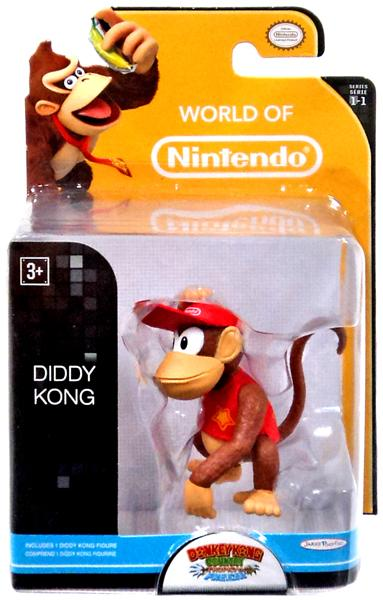 Diddy Kong World of Nintendo 2.5 Inch Figure