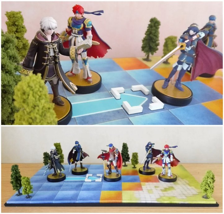 Fire Emblem Amiibo Display Stand NBros
