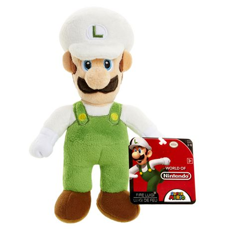 Fire Luigi World of Nintendo Plush