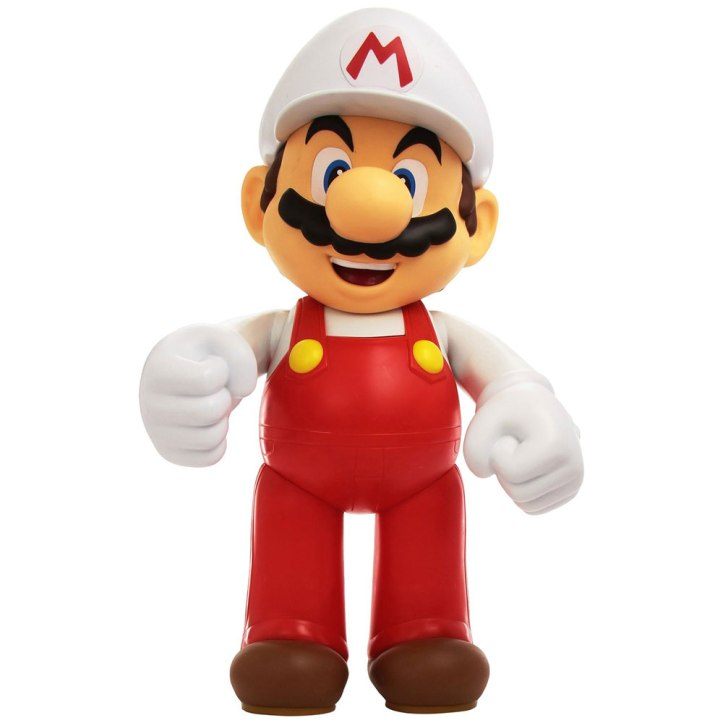 Fire Mario 20 Inch World of Nintendo Figure