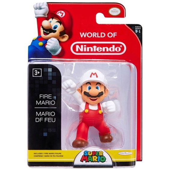 Fire Mario World of Nintendo 2.5 Inch Figure