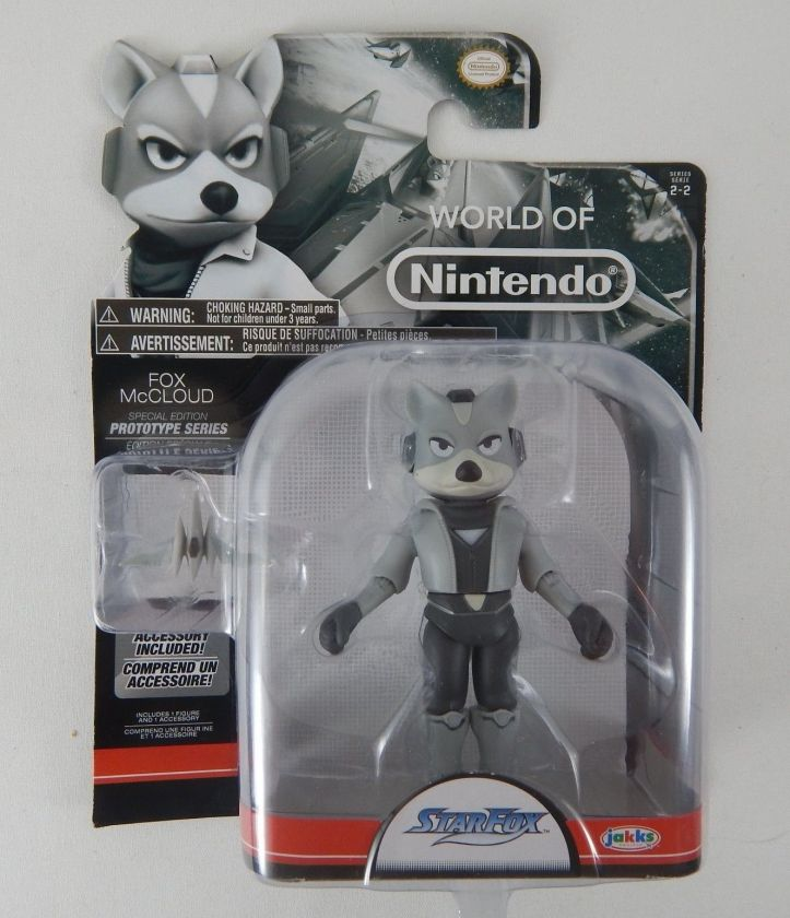 Fox McCloud Prototype Series World of Nintendo 4 Inch Figure