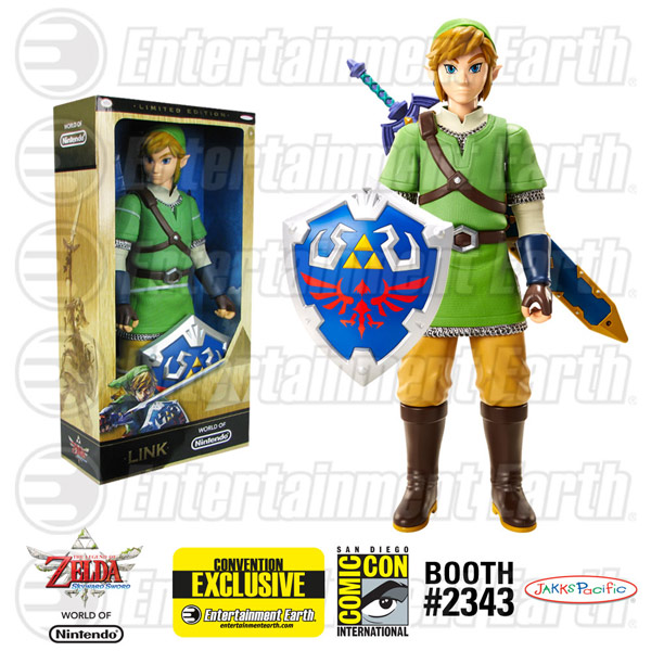 Link 20 Inch World of Nintendo Figure SDCC Exclusive