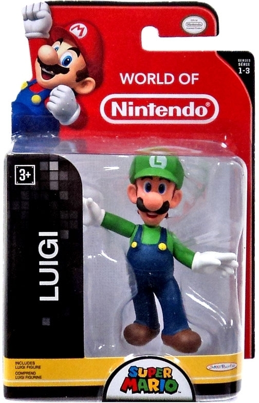 Luigi World of Nintendo 2.5 Inch Figure