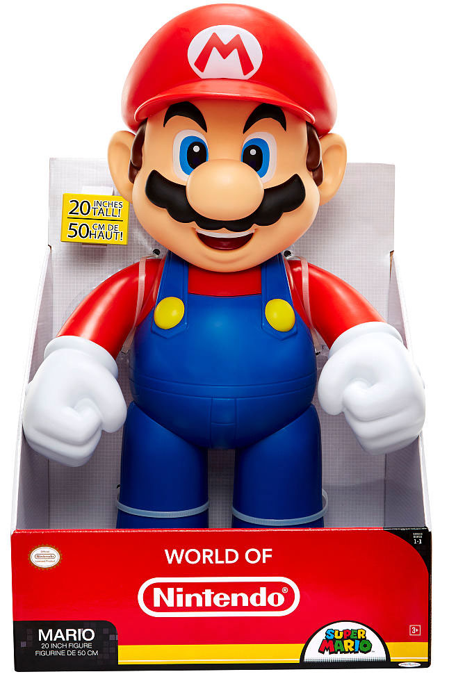 Mario 20 Inch World of Nintendo Figure