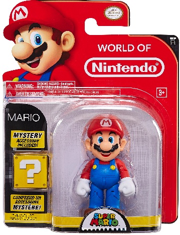 Mario 4 Inch World of Nintendo Figure
