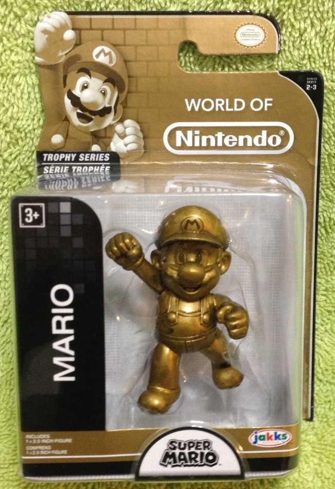 Mario World of Nintendo Trophy Series