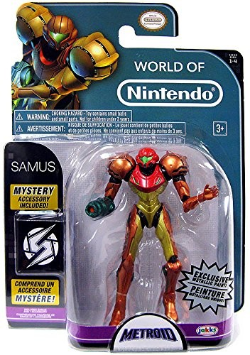 Metallic Samus 4 Inch World of Nintendo Figure