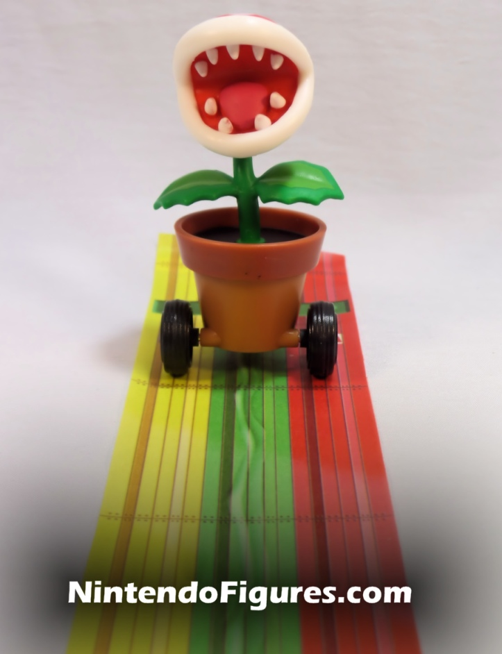 Piranha Plant Tape Racer World of Nintendo Figure
