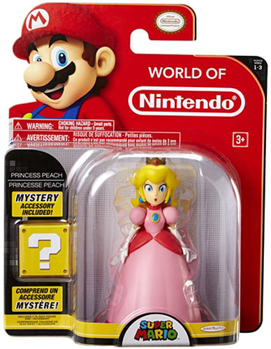 Princess Peach 4 Inch World of Nintendo Figure