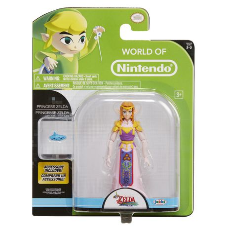 Princess Zelda World of NIntendo 4 Inch Figure