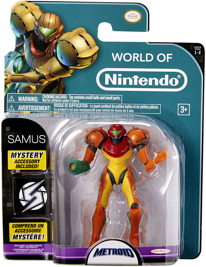 Samus 4 Inch World of Nintendo Figure