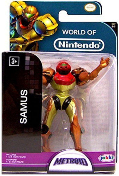 Samus World of Nintendo 2.5 Inch Figure