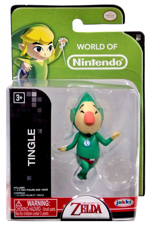 Tingle World of Nintendo 2.5 Inch Figure