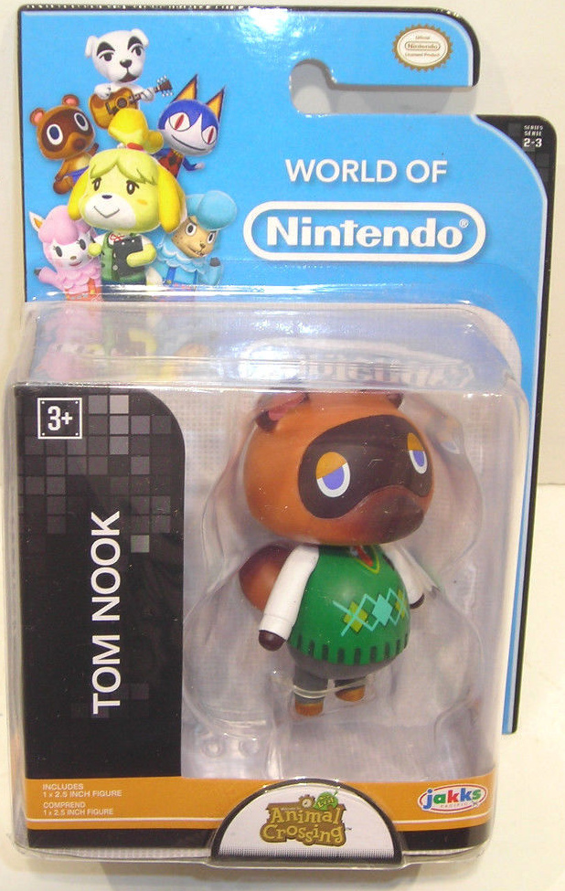 Tom Nook World of Nintendo 2.5 Inch Figure