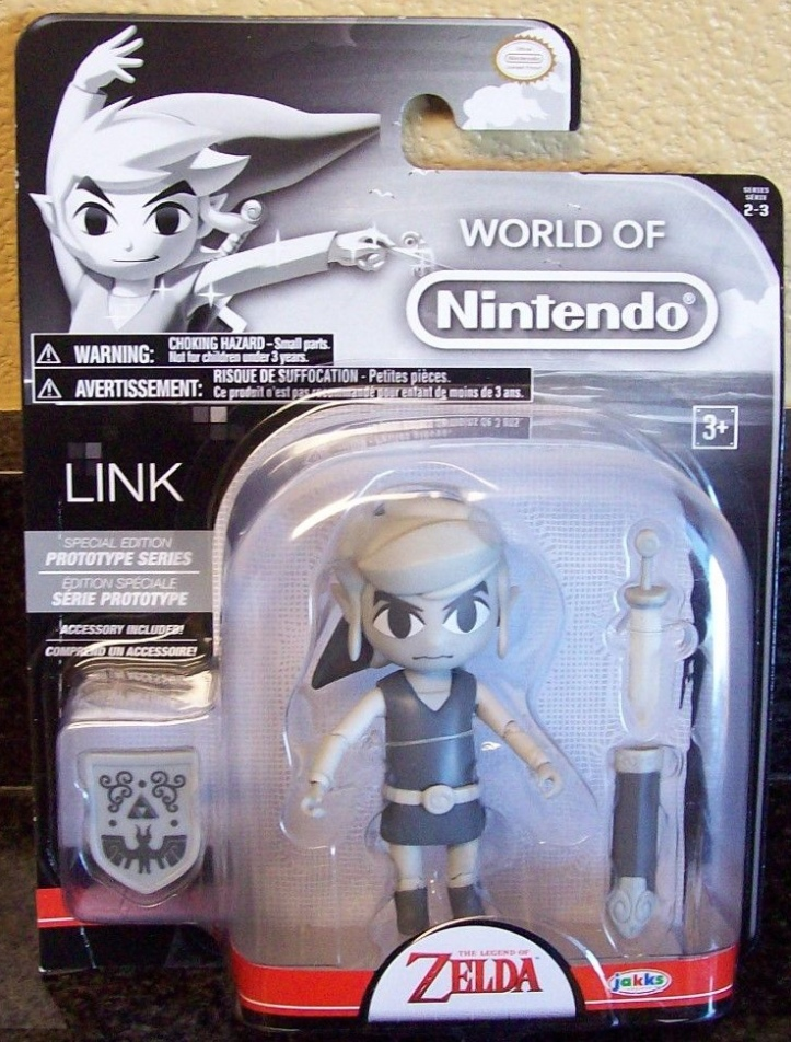 Toon Link Prototype Series World of Nintendo 4 Inch Figure