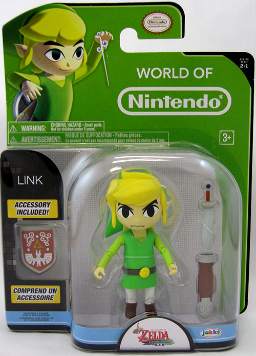 Toon Link World of Nintendo 4 Inch Figure