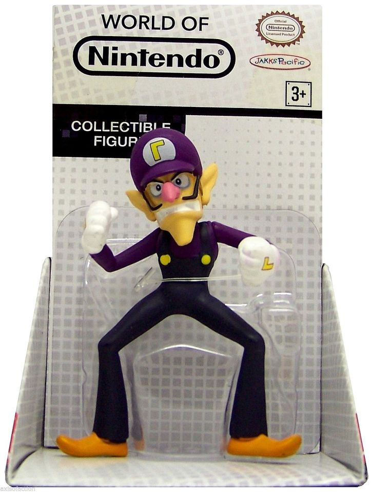 Waluigi World of Nintendo 2.5 Inch Figure Walmart
