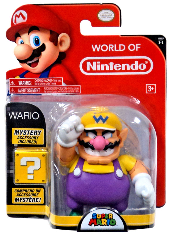 Wario 4 Inch World of Nintendo Figure