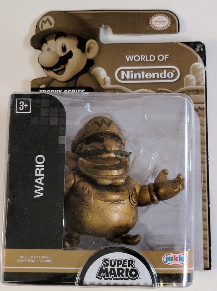 Wario World of Nintendo Trophy Series