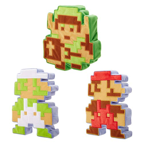World of Nintendo Plush Releases 8-Bit Series