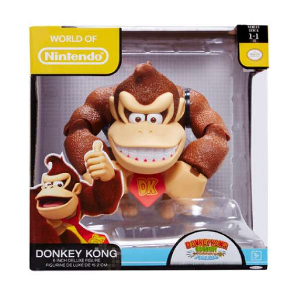 Donkey Kong World of Nintendo 6 Inch Figure