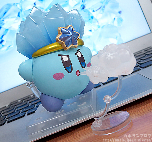 Ice Kirby Nendoroid Using Power