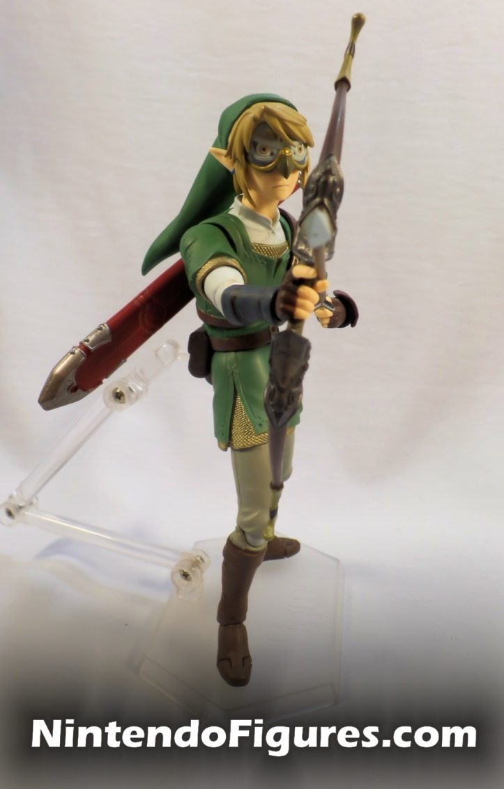 Link Twilight Princess Figma DX Hawkeye Bow and Arrow
