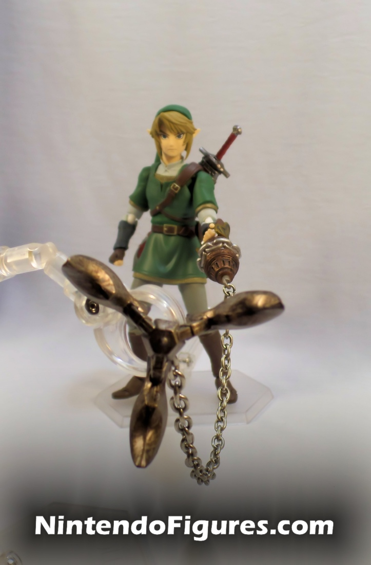 Link Twilight Princess Figma DX Clawshot Close Up