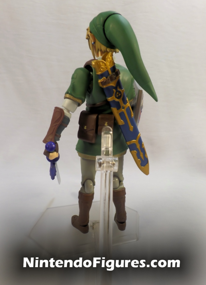 Link Twilight Princess Figma DX Master Sword Back