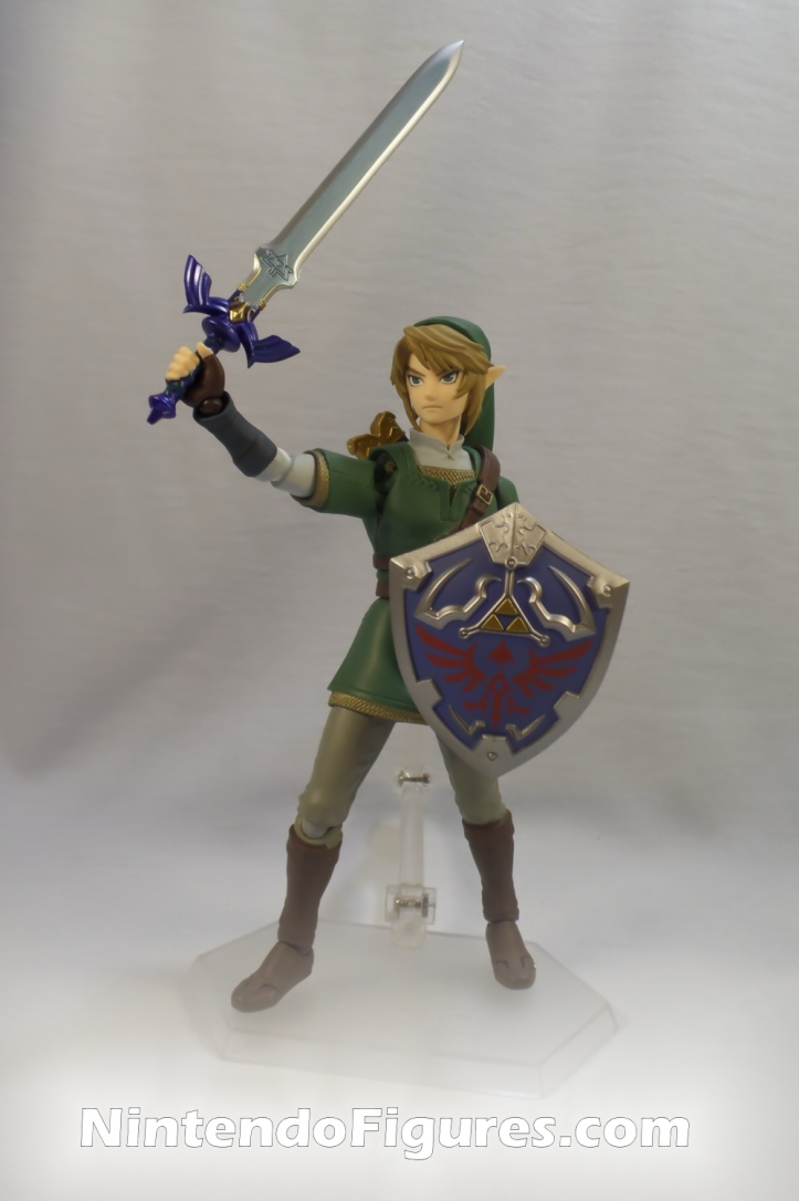 Link Twilight Princess Figma DX Master Sword Front