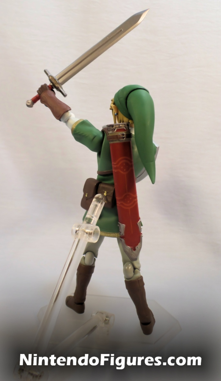 Link Twilight Princess Figma DX Training Sword Back