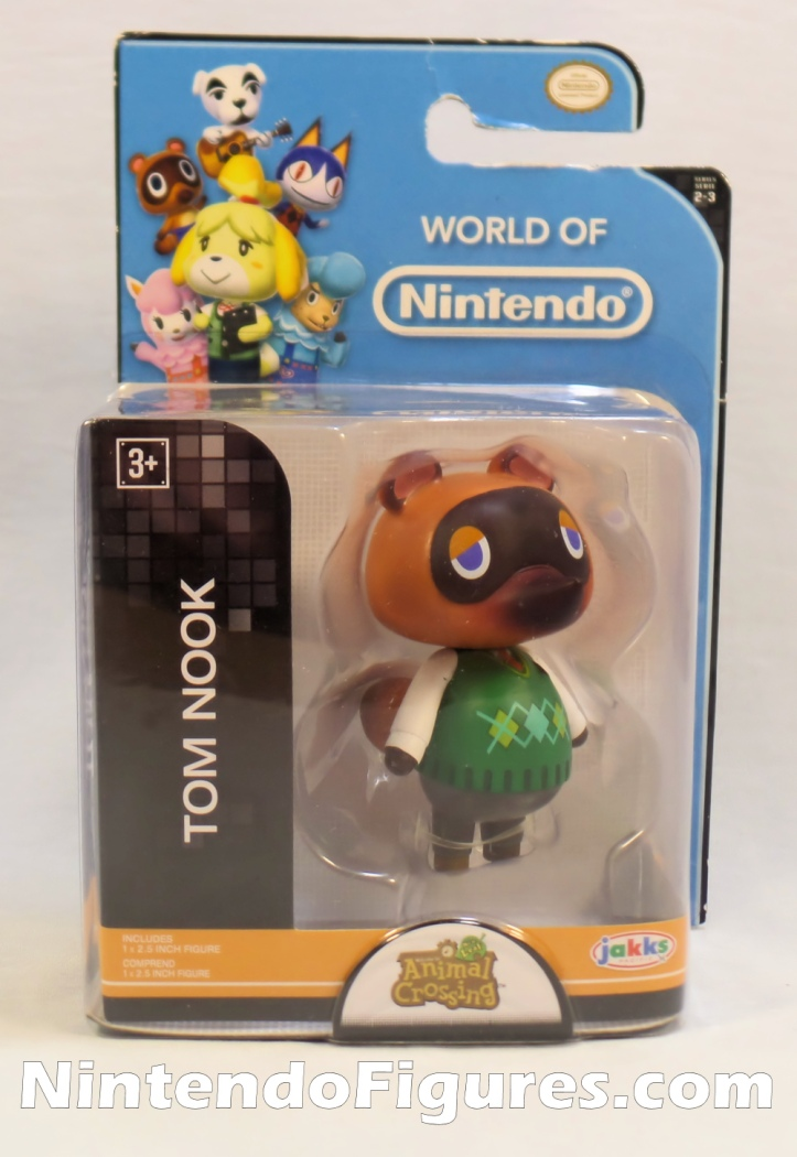 "Tom Nook World of Nintendo 2.5"" Inch Figure Box"