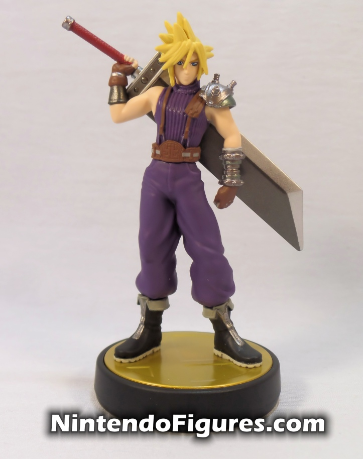 Cloud Strife Super Smash Bros Amiibo Front