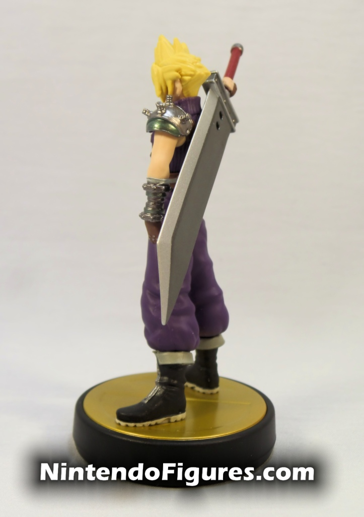 Cloud Strife Super Smash Bros Amiibo Side