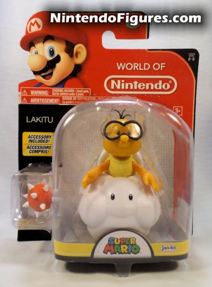 "Lakitu World of Nintendo 4"" Inch Figure Box Front"