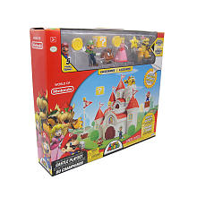 Mushroom Kingdom Castle Playset World of Nintendo Box