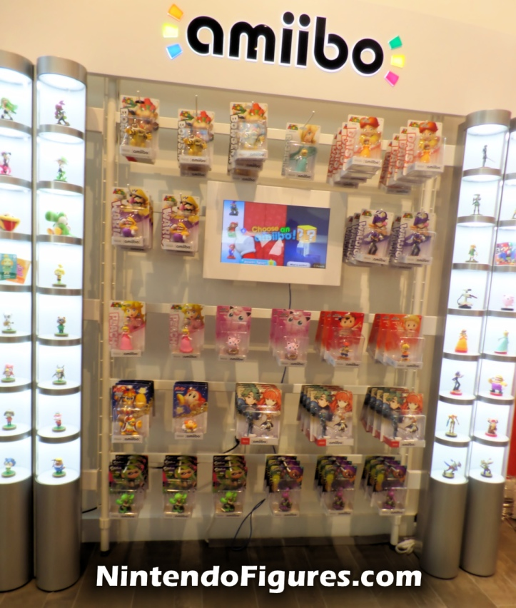 Nintendo New York Amiibo Display