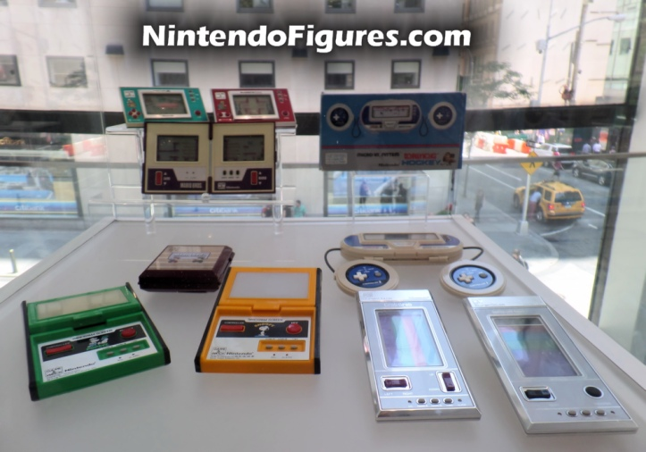 Game and Watch Display Nintendo New York