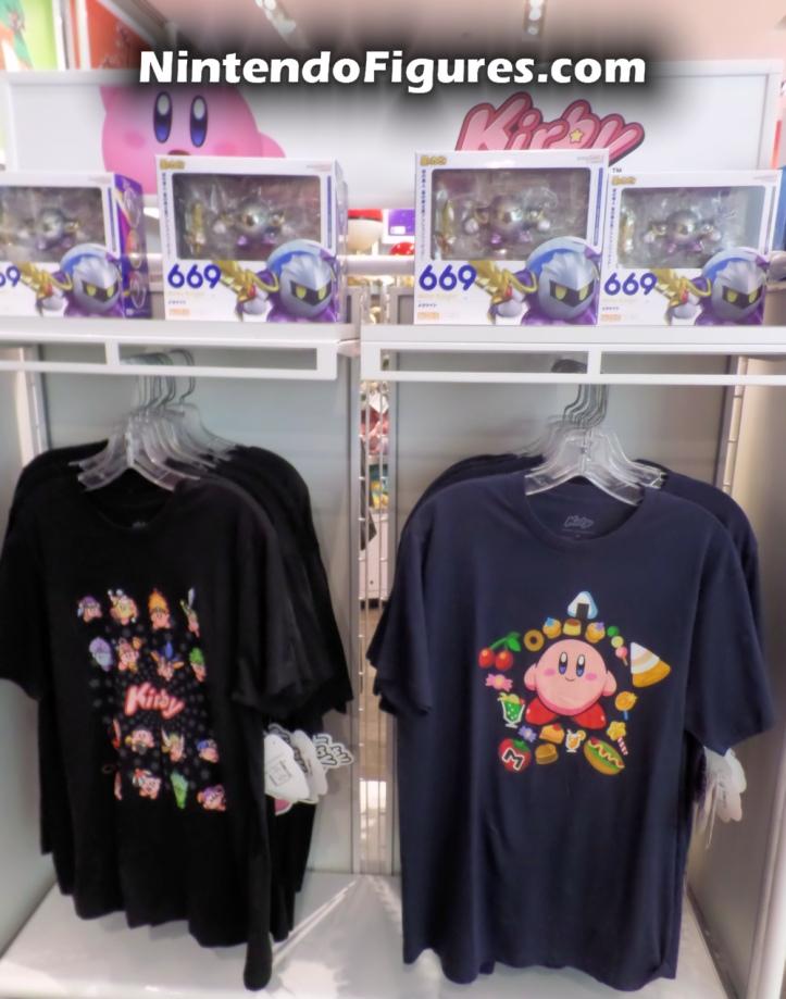 Nintendo New York Kirby Shirts and Nendoroid