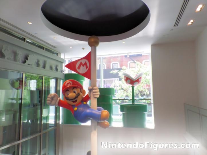 Mario on Flagpole Nintendo New York