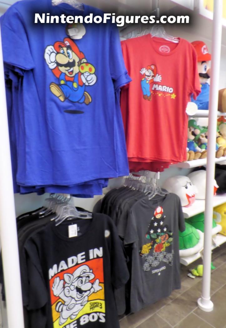 Mario Shirts Nintendo New York