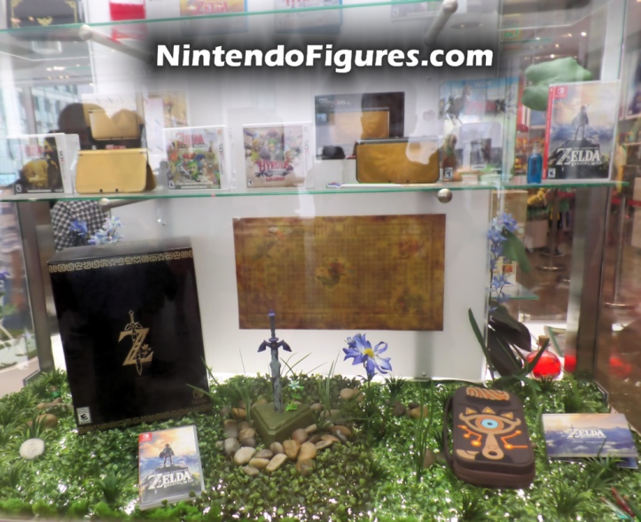Legend of Zelda Display Nintendo New York