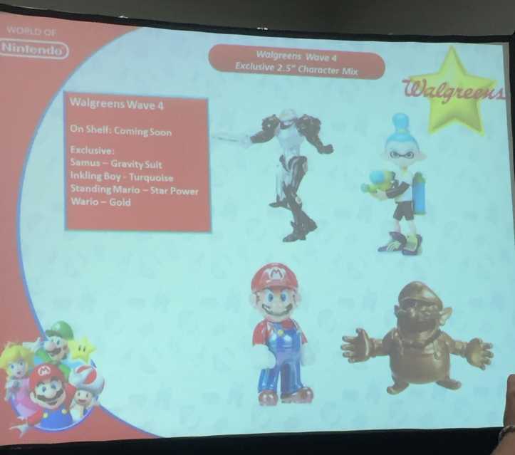 Walgreens Exclusive World of Nintendo 2.5 Inch Figures