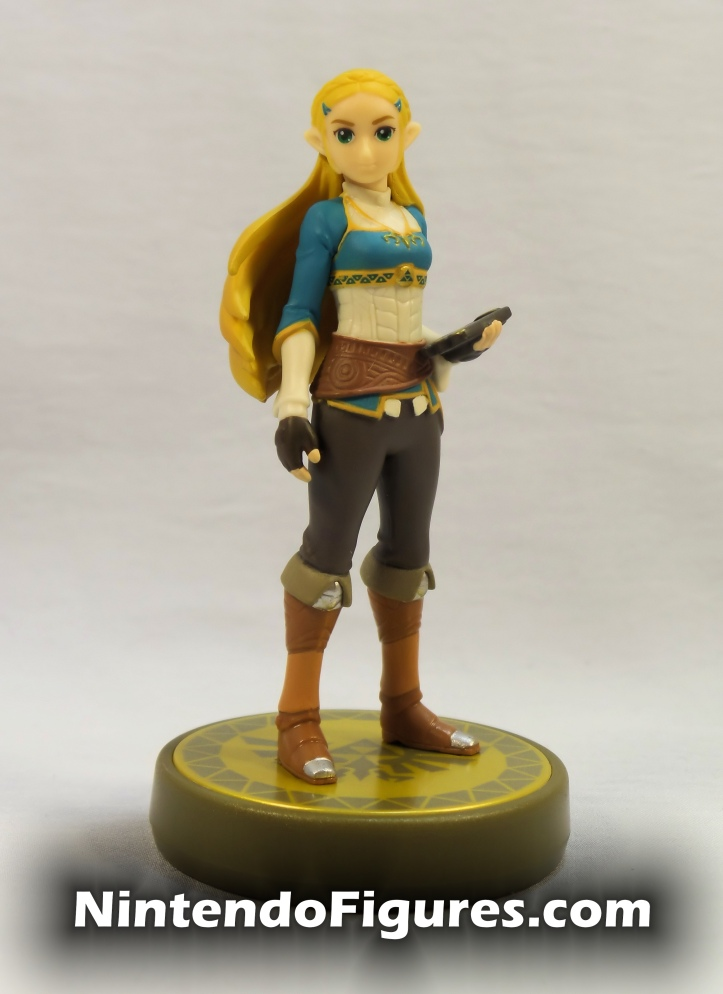 Zelda The Legend of Zelda Breath of the Wild Amiibo Front