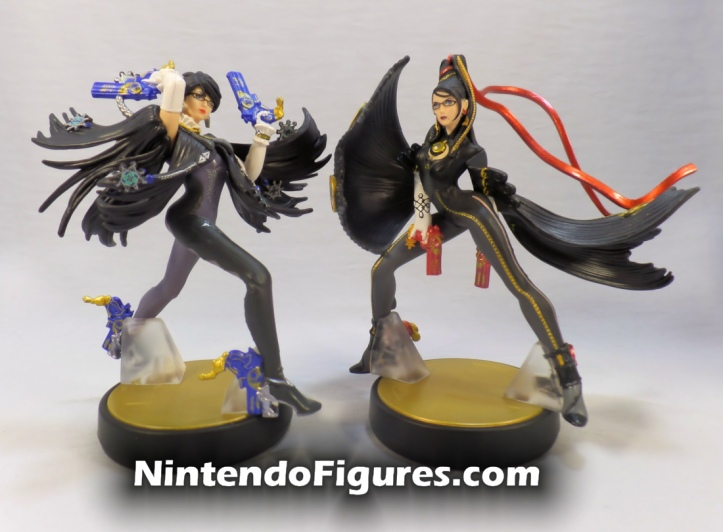 Bayonetta Player One Amiibo and Player Two