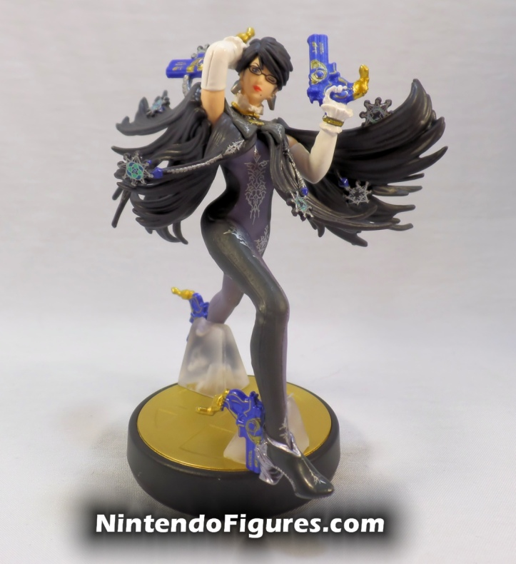 Bayonetta Player One Amiibo Box Front Front