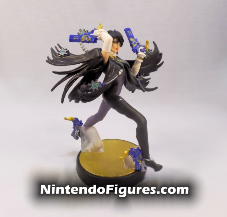 Bayonetta Player One Amiibo Box Side