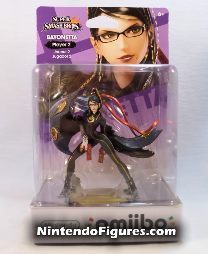 Bayonetta Player Two Super Smash Bros Amiibo Box